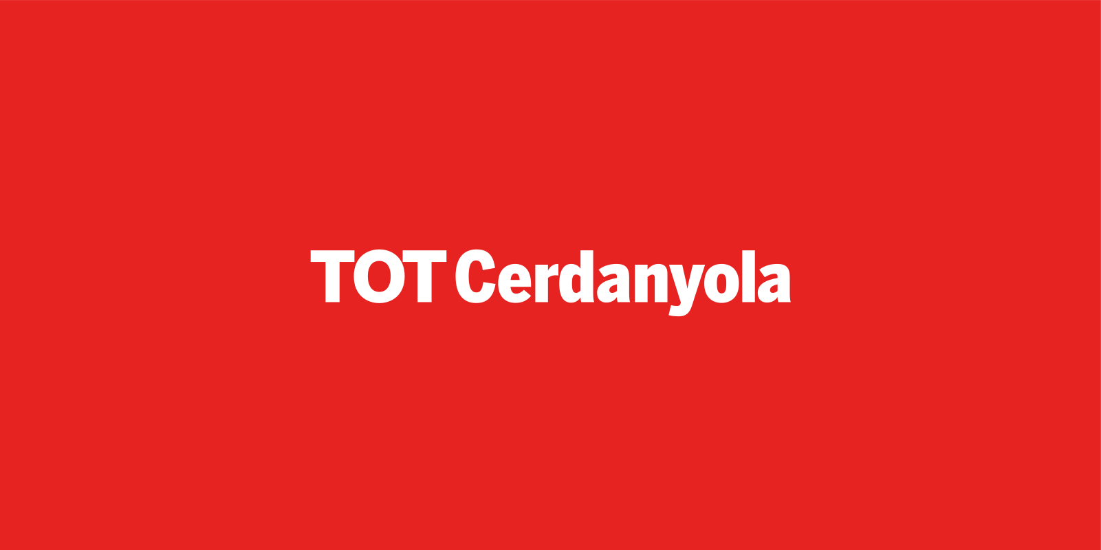 Logo TOTCerdanyola